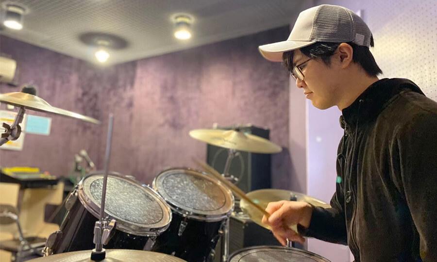 ドラム教室無料体験レッスン