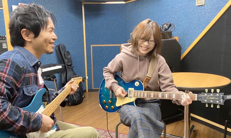 ギター教室無料体験レッスン