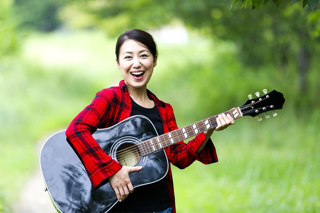 ギターをもっと楽しみたい大人の方