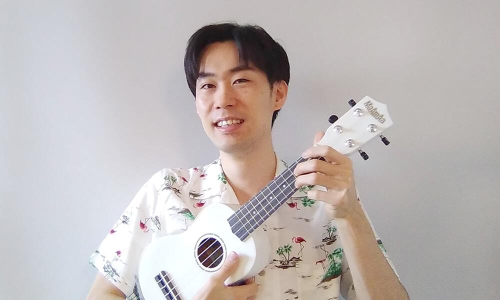 セレクトーンミュージックスクール ウクレレ講師 野口竜之介